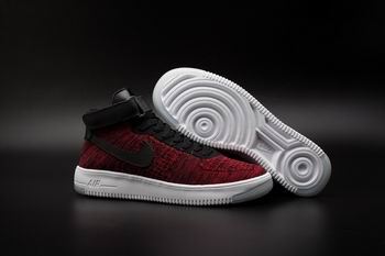 cheap buy wholesale nike Air Force One flyknit shoes mid top 17760