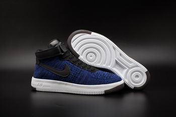 cheap buy wholesale nike Air Force One flyknit shoes mid top 17761