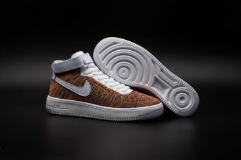 cheap buy wholesale nike Air Force One flyknit shoes mid top 17762