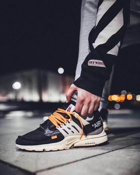 Nike Air Presto shoes off-white discount 23357