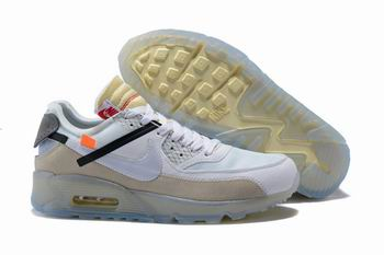 cheap Nike Air Max90 X Off White shoes free shipping 23255
