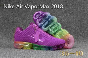 cheap Nike Air VaporMax 2018 shoes women free shipping 21899
