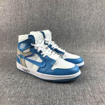 cheap off-white air jordan 1 shoes 23728